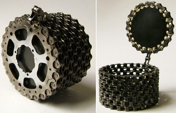 20 Coolest Recycled Bicycle Chain Creations Ever Made