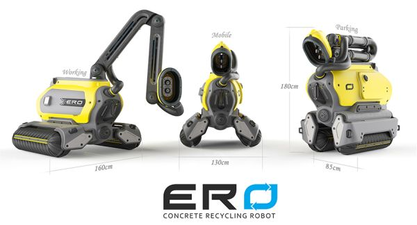 ERO Concrete Recycling Robot 2
