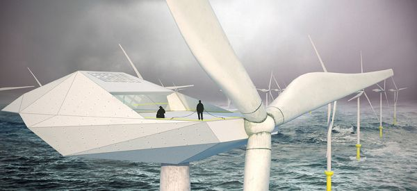 Wind Turbine Loft concept by Morphocode