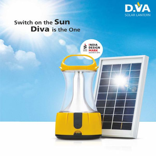 DIVA solar-powered portable lantern