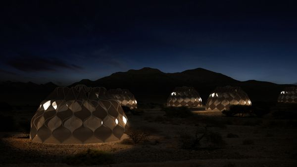 Abeer Seikaly solar-powered refugee shelters