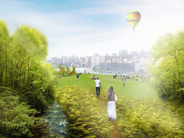 Green Loop Compost Island A green space and solution to NYC's organic waste  6