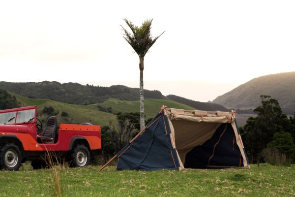 Nikolai Sorensen's Under Cover Camper is sustainable two –men-tent 5