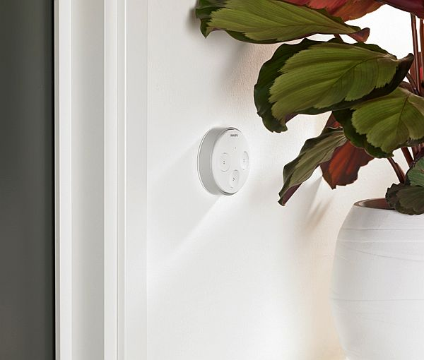Philips hue tap uses kinetic energy to control your favorite hue light