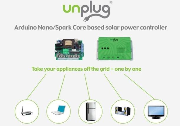 UNplug solar controller
