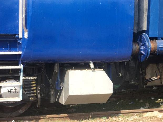 Bio toilets in Indian railway coaches