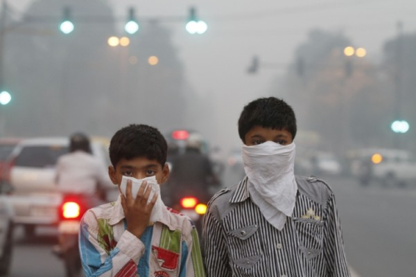 PM1 particle in Delhi air