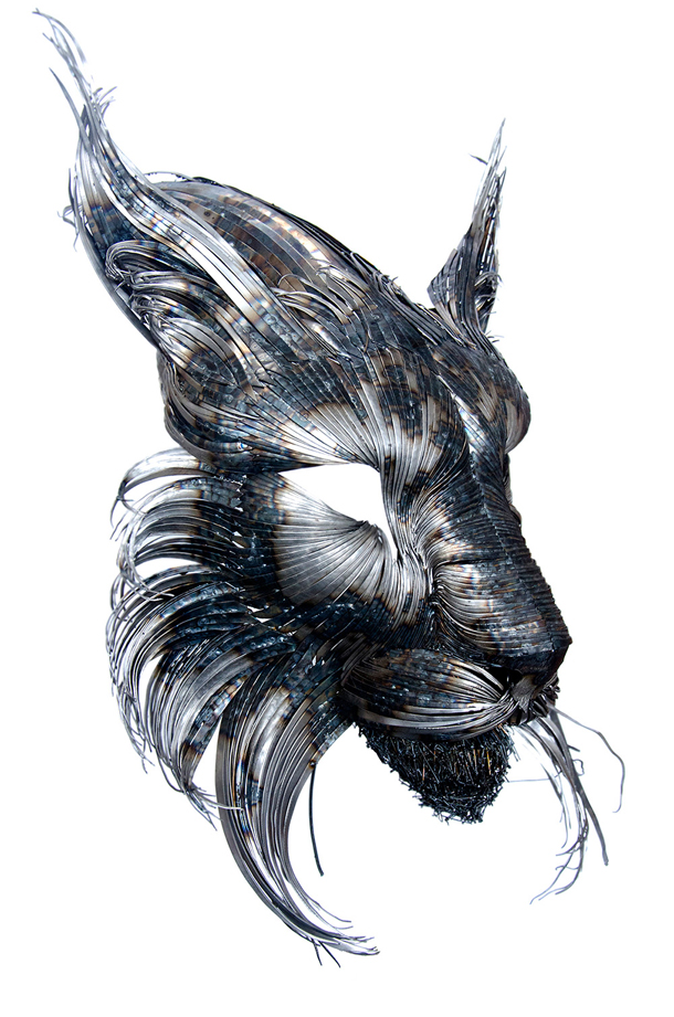 Recycled Steel Sculptures by Selçuk Yılmaz 5
