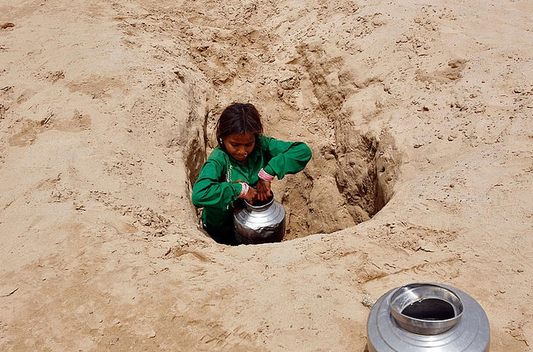 Indian groundwater depletion