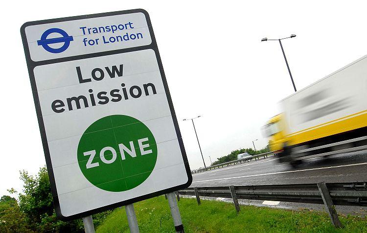 London Ultra Low Emission Zone