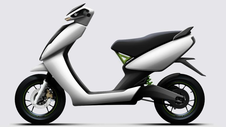 S340 electric scooter by Ather Energy