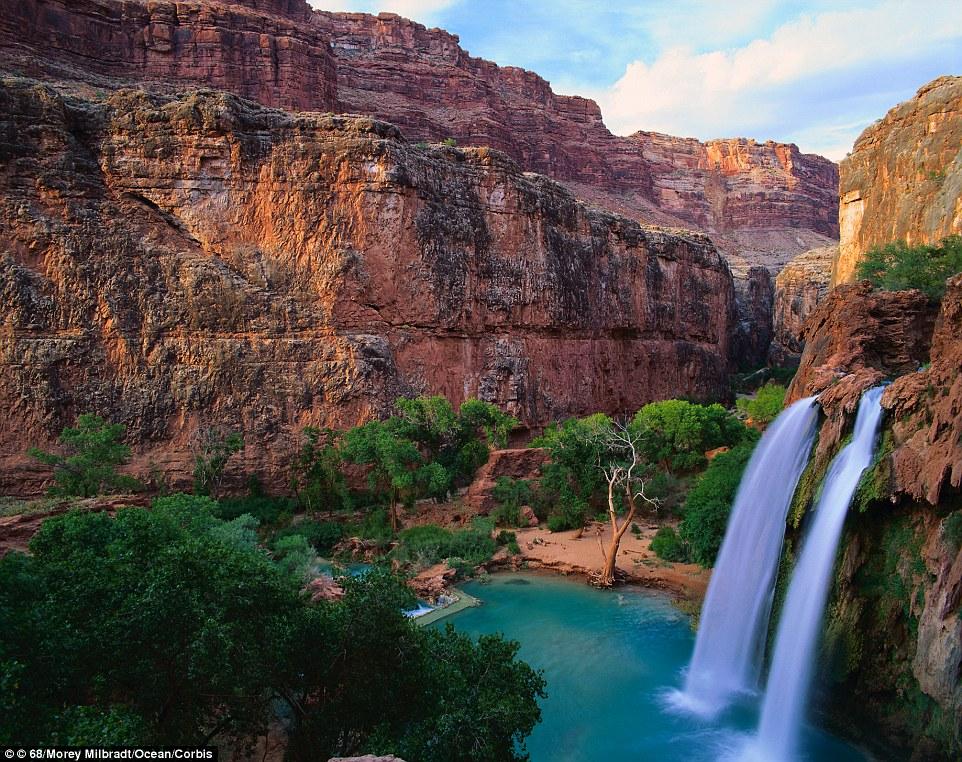 Havasu Falls in Arizona, USA