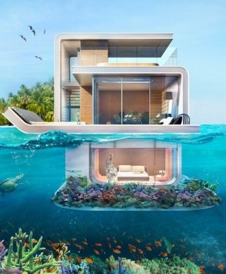 underwater villas by Kleindienst Group 30