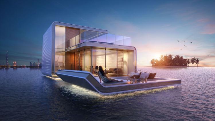 underwater villas by  Kleindienst Group