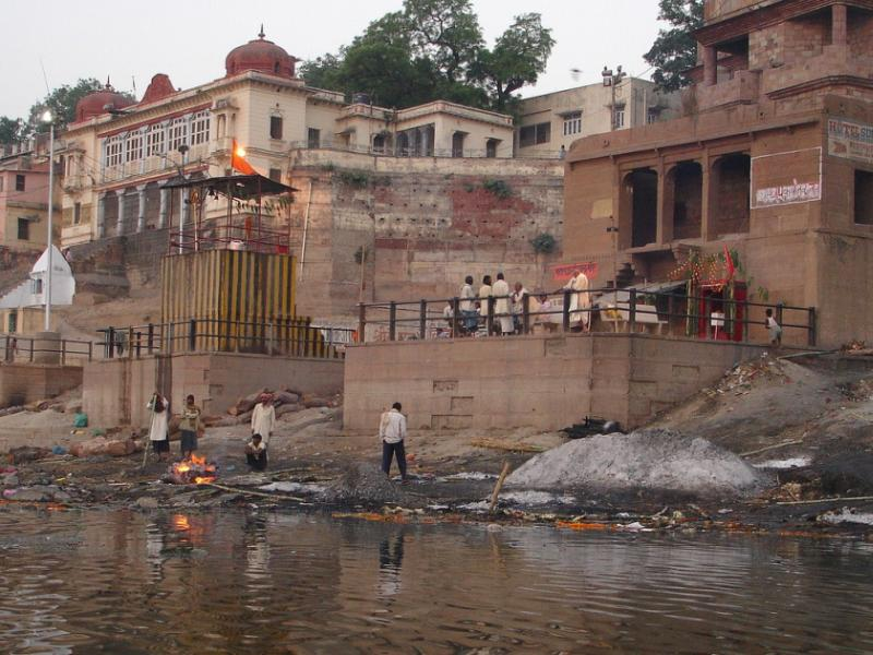 Ganges pollution in India
