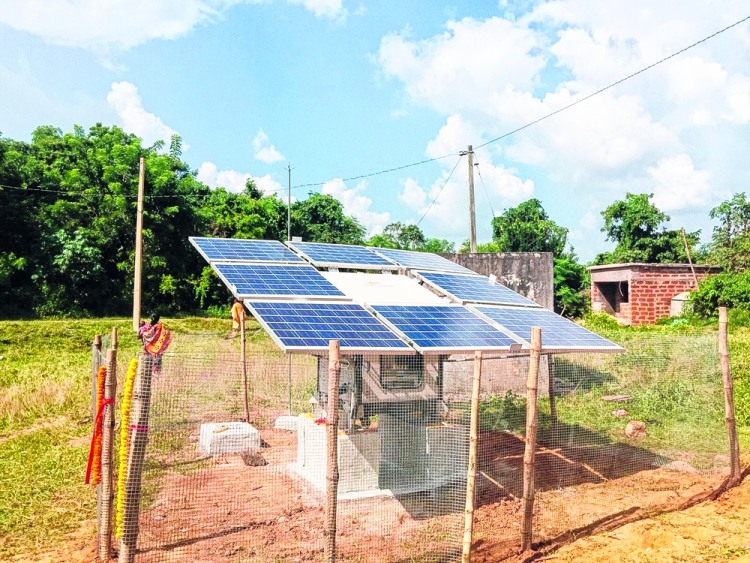 Odisha solar powered village