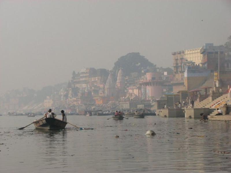 Routine in ganges river