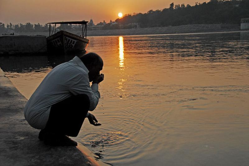 ganges water healthy to drink