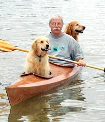 Dog-friendly kayak by david bahnson3