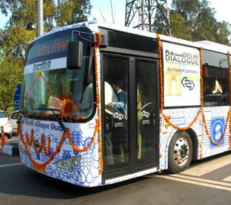 electric bus Delhi