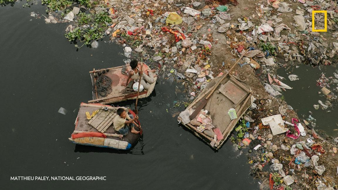 Dead Yamuna River