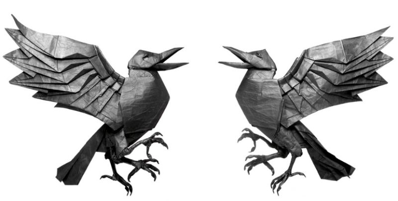 This Self Taught Origami Artist Creates Awesome Wildlife With Paper