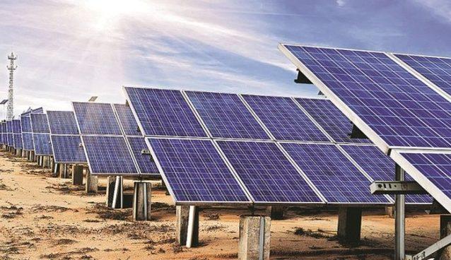 Adani solar power plant Mohaba Uttar Pradesh