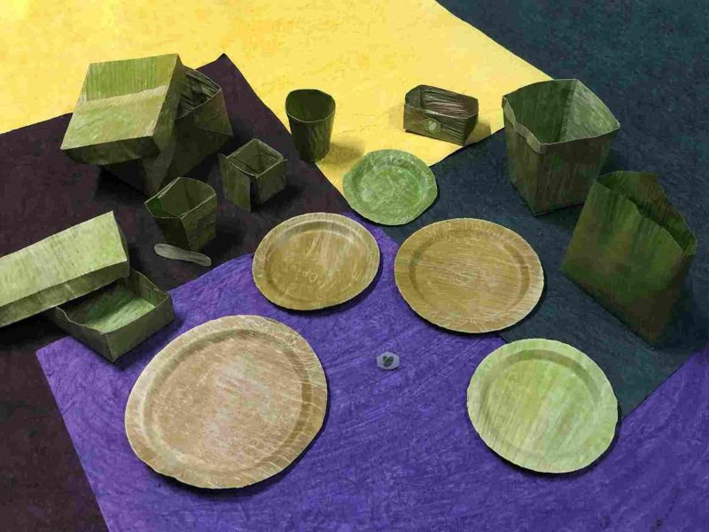 Bio Material Made From Banana Leaves to Replace Single-use Plastic