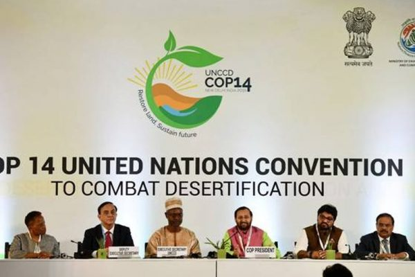 India Hosts 14th Conference of Parties to Combat Desertification, Takes Over UNCCD Presidency From China