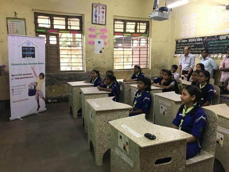 Mumbai Woman Revolutionizing Waste Management, Recycles Tetra Pak Cartons into Degradable Furniture