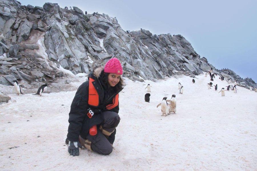 Malaika Vaz Wildlife Conservationist