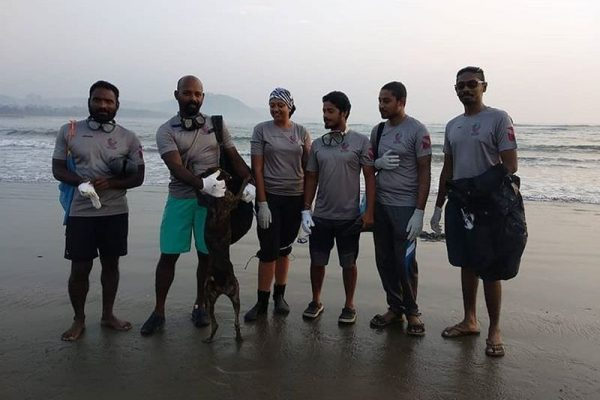 Divers in Vizag have Collected 5,000 kg of Plastic waste from the Ocean