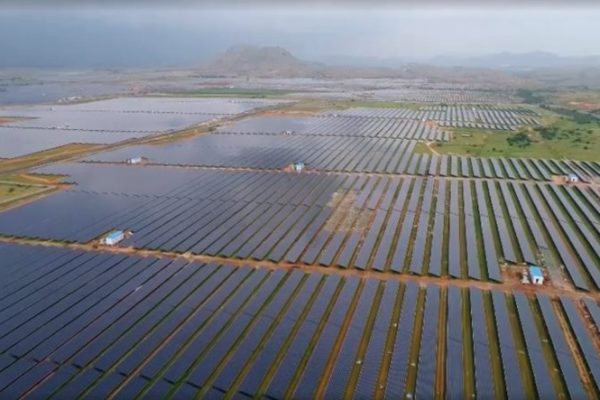 World's Largest Solar Farm - Pavagada Solar Park
