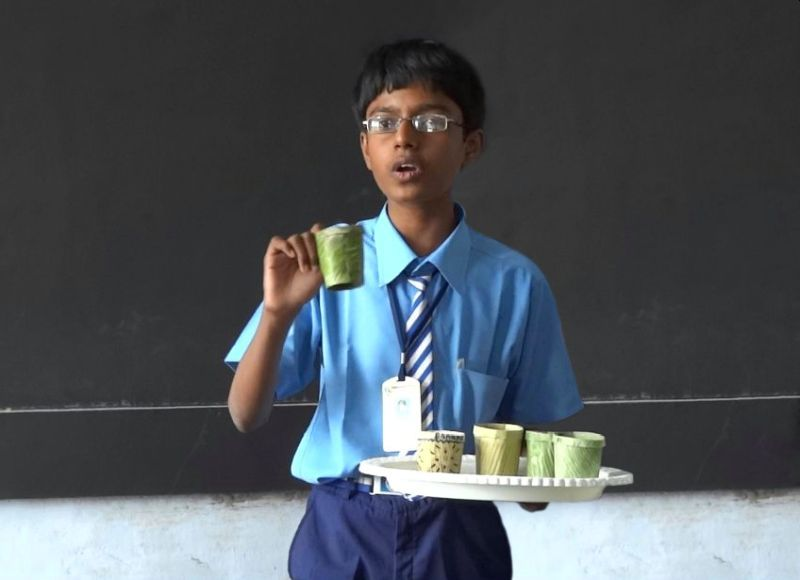 Tenith Adithyaa, Banana Leaf technology - Upcycling Youth Icons of India Turning Trash Into Treasure
