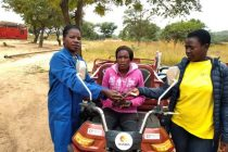 Electric-Powered Motorcycle Brings Income to Poor Women in Zimbabwe