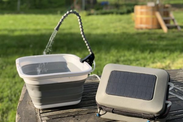 GoSun Flow is Solar-Powered Water Purifier and Sanitation System