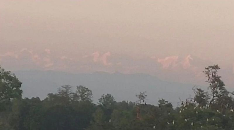 Himalayas Are Visible from Village in Bihar Owing to Lack of Pollution