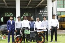 Engineering Students at Shadan College Design Solar-Powered Bike
