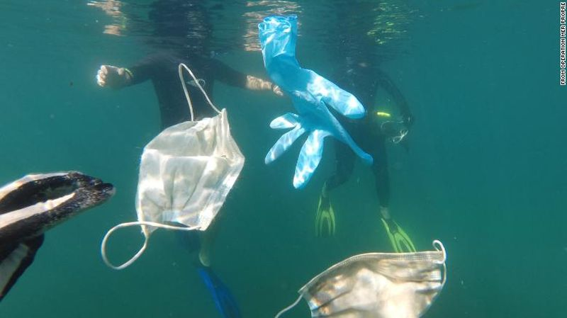 Conservationists Worry Coronavirus Waste Will Endanger Life in Oceans