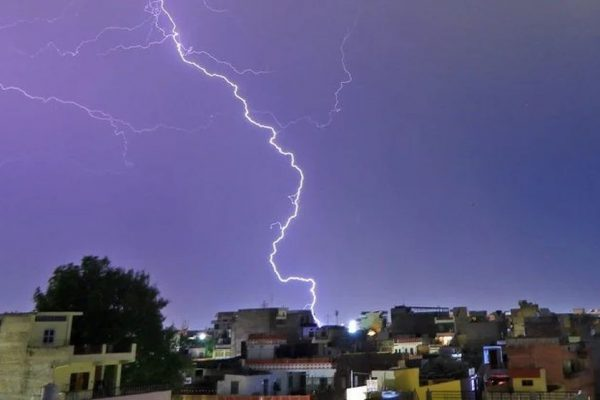 Lightning Strikes in India Keep Getting Worse, Killed 147 People in 10 Days