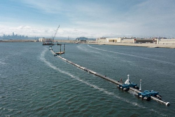 Floating Booms Are Temporary Solution to Ocean Plastic Pollution