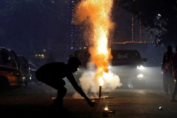 Indian States Ban Firecrackers Ahead of Diwali Due to Air Pollution and COVID-19 Risk