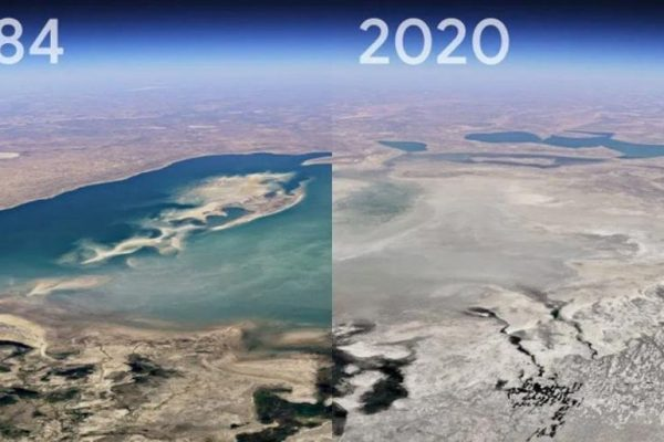 Google Earth Timelapse Feature Lets You See Horrific Changes on Earth