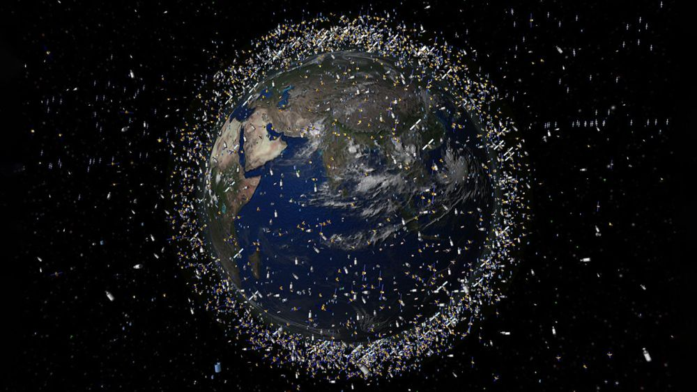 Light Pollution from Artificial Satellites Obstruct Astronomical Observations