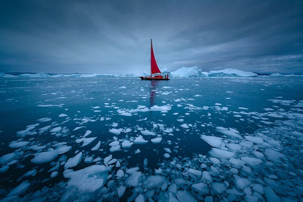 50 + Scary Images Depicting Effects of Global Warming on World's Ice Masses