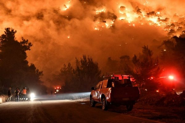 Greece Evacuates More Villages as Wildfire Spreads Through the Country