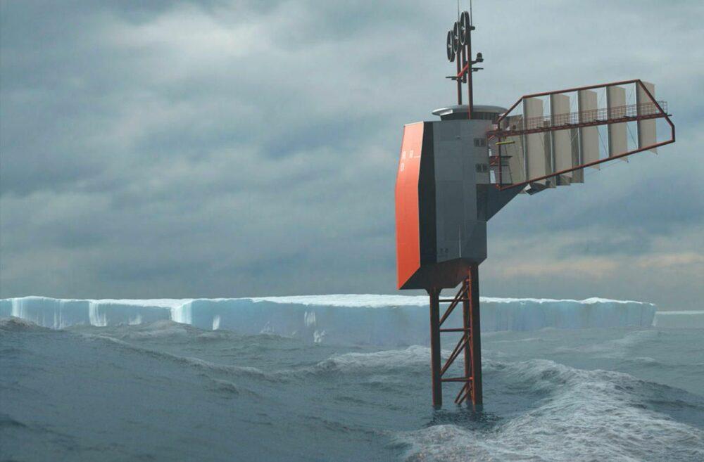 polar pod futuristic vessel vertical