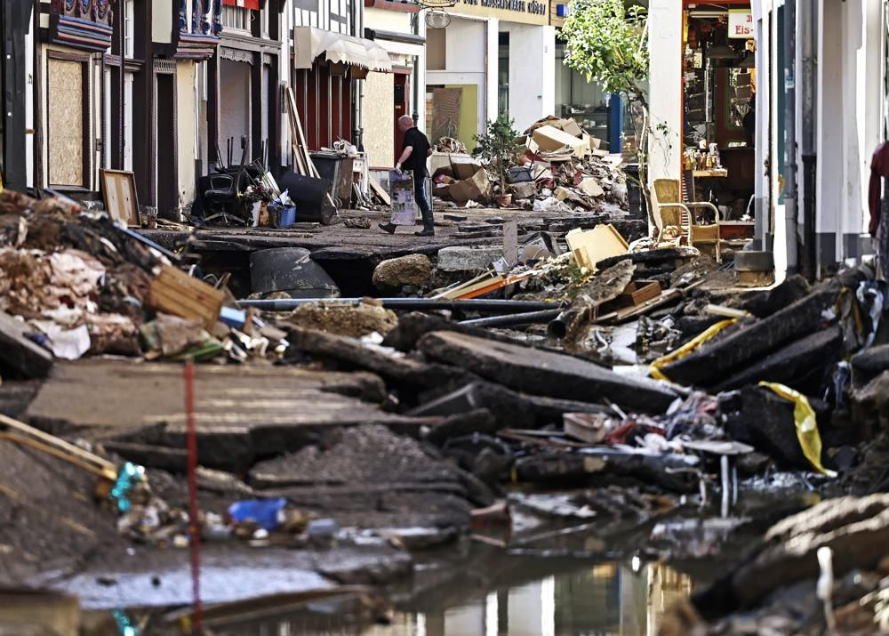 Destructive Flooding in Western Europe Inflicts Death and Damage