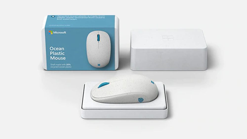 Microsoft's The Ocean Plastic Mouse, a Sustainable and Ecofriendly Peripheral
